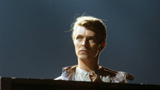 David Bowie in concert in 1978