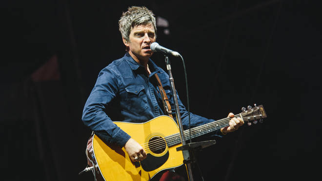 Noel Gallagher of Noel Gallagher's High Flying Birds performs on Day 6 at the Sziget Festival 2016