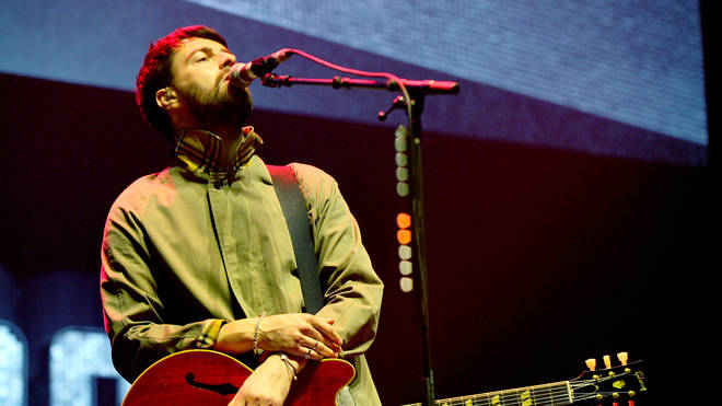 Courteeners' Liam Fray performs at We Are Manchester