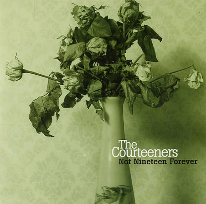 Courteeners' Not Nineteen Forever single