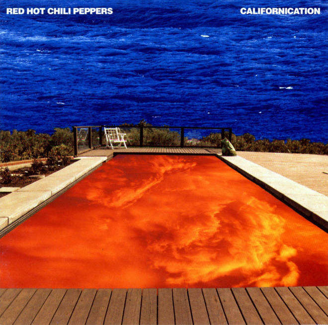 Red Hot Chili Peppers - Californication cover art