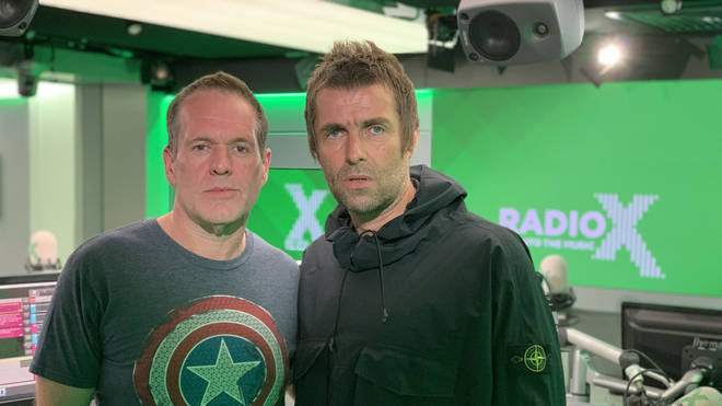 Chris Moyles talks to Liam Gallagher on The Chris Moyles Show