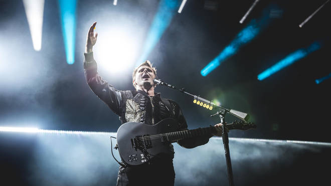 Muse performing live at Rock Am Ring