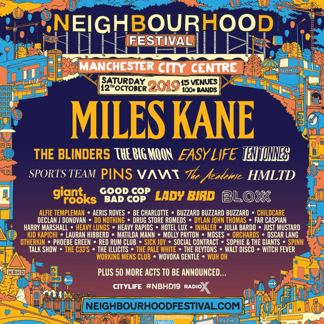 Neighbourhood Festival poster