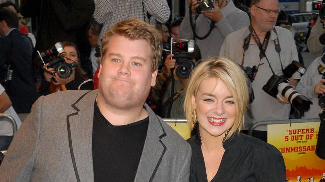 James Corden and Sheridan Smith