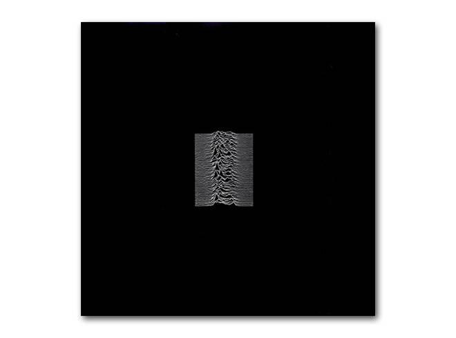 Joy Division - Unknown Pleaasures album cover, 1979