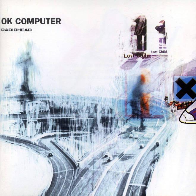 Radiohead - OK Computer album artwork