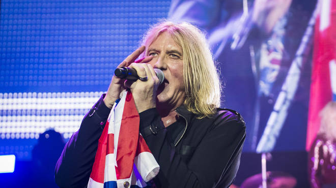 Def Leppard playing live in 2018