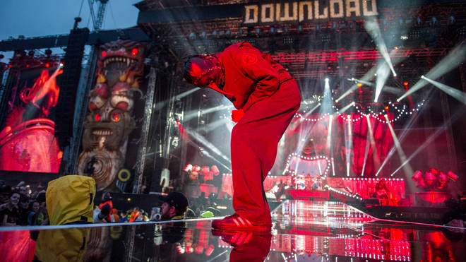 Slipknot live at Download 2015