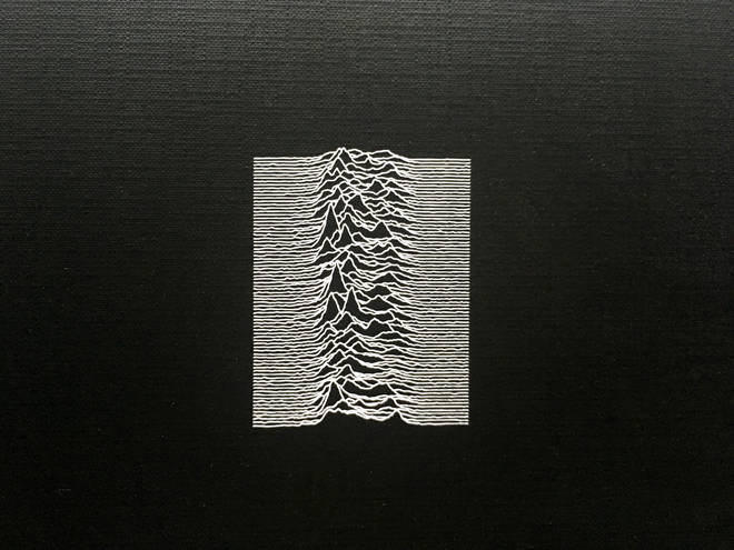 Joy Division - Unknown Pleasures album cover close-up