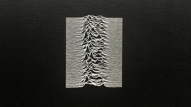 Joy Division - Unknown Pleasures album cover detail