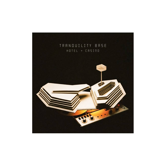 Arctic Monkeys - Tranquility Base Hotel & Disco artwork