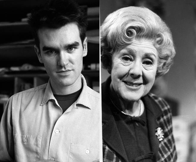 Morrissey and Cicely Courtenidge