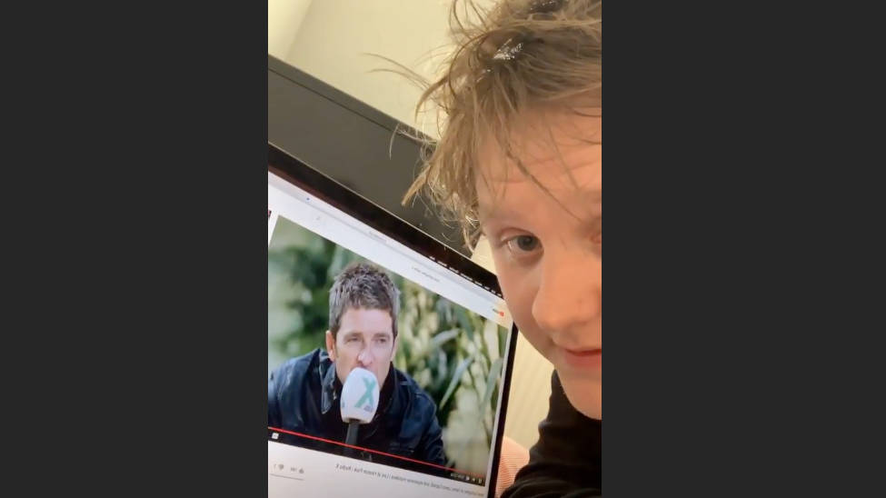 "WATCH: Lewis Capaldi reacts hilariously to being ""slagged off"" by Noel Gallagher"
