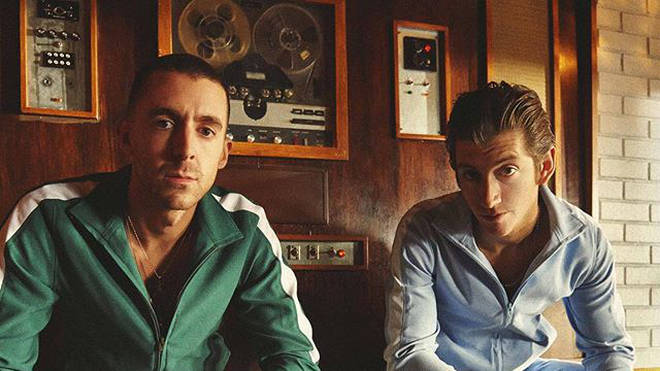Miles Kane & Alex Turner in The Last Shadow Puppets
