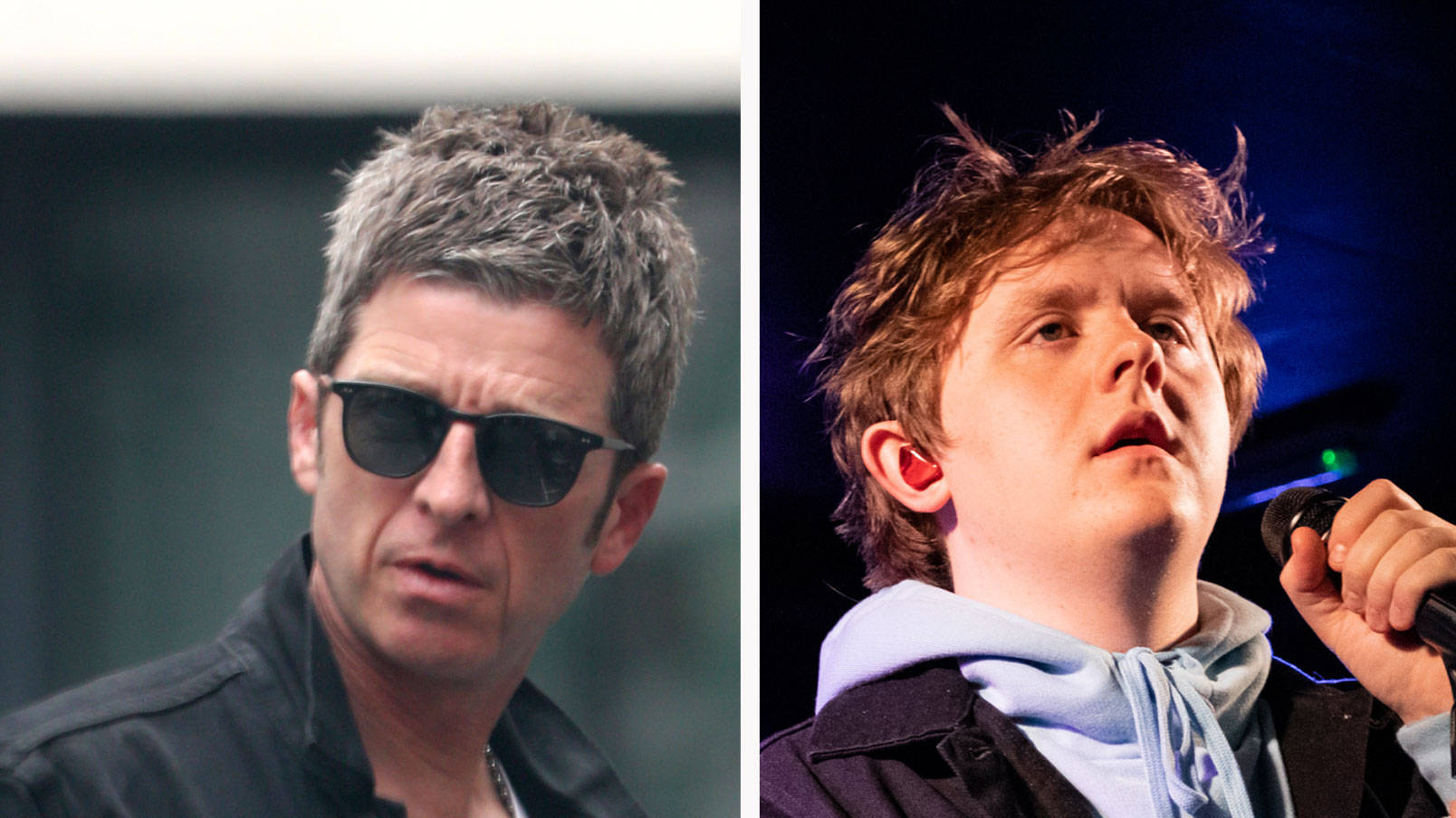 VIDEO: Noel Gallagher hits back at Lewis Capaldi's reaction videos after he slagged him off online