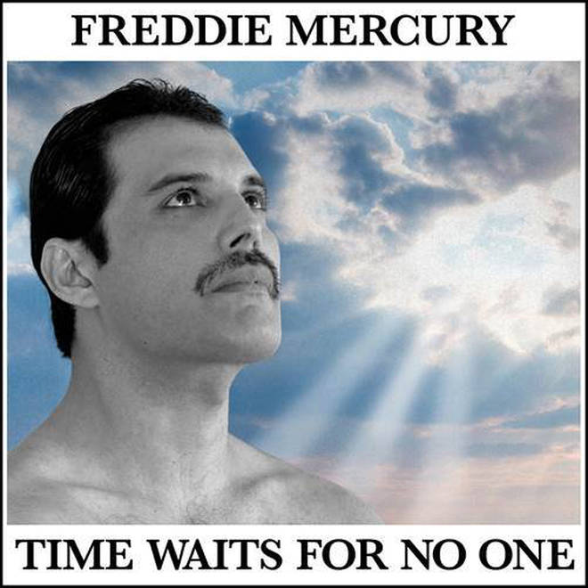 Freddie Mercury Time Waits For No One artwork