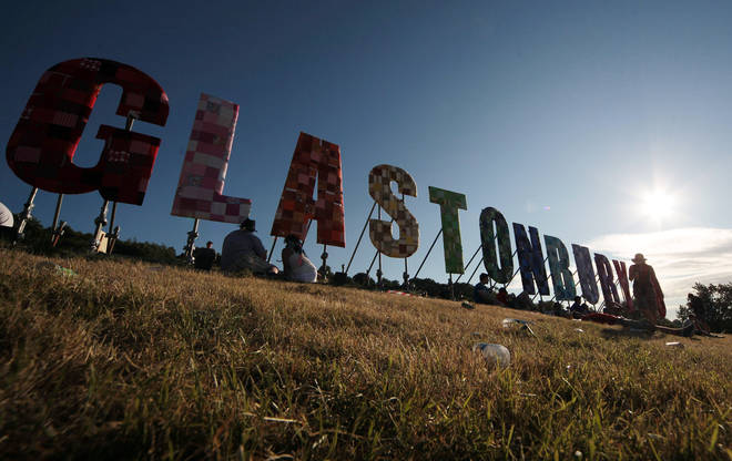 The Glastonbury weather forecast looks promising