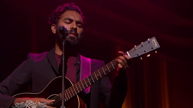Himesh Patel performs The Beatles' Yesterday on Jimmy Kimmel Live