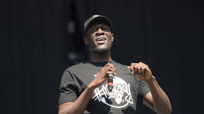 Stormzy live onstage
