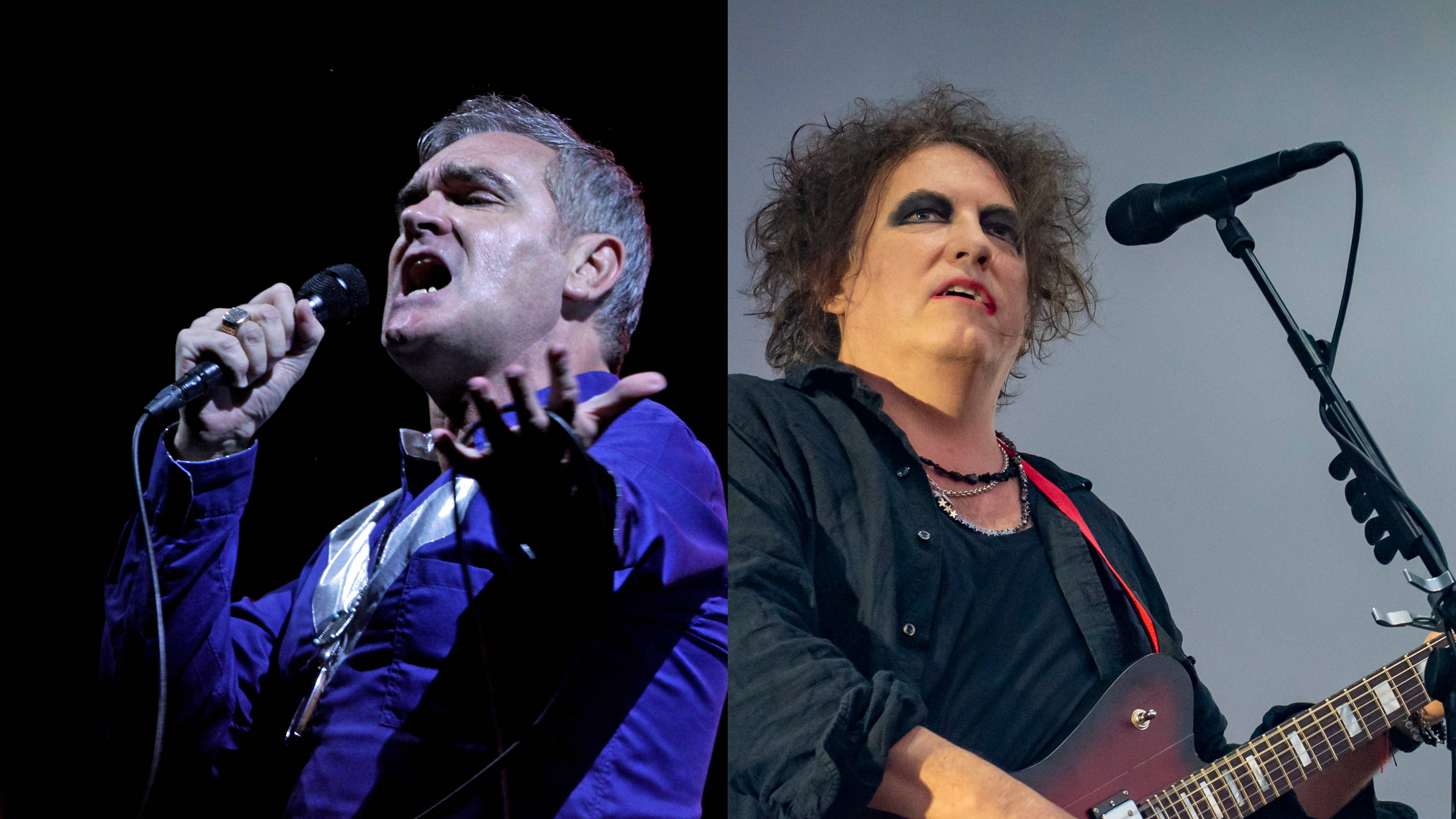 """Morrissey """"apologises"""" to Robert Smith of The Cure for 80s insults"""