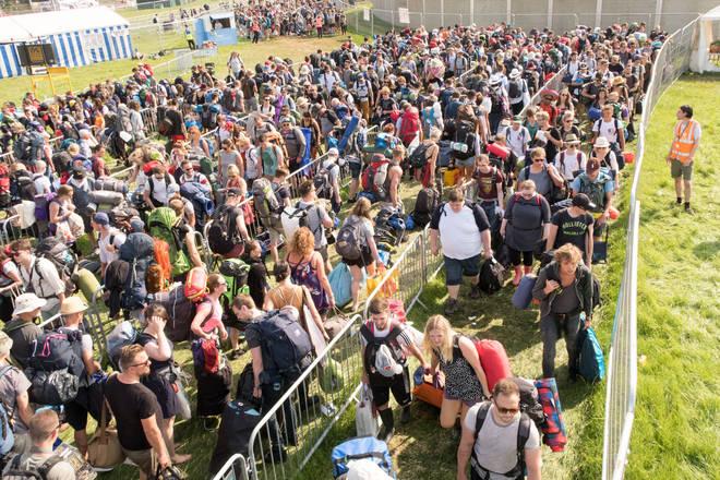 Gates Open For Glastonbury Festival