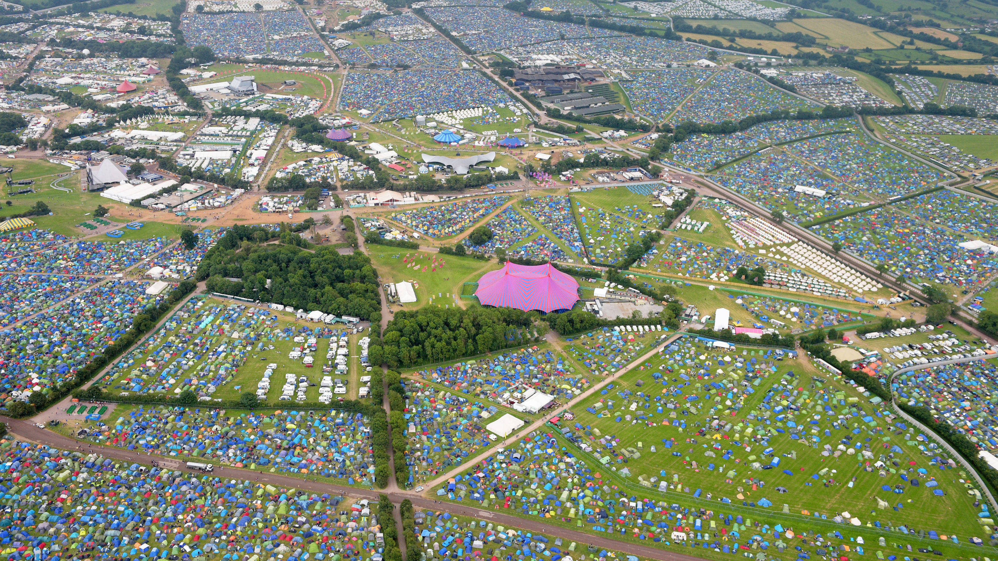 Glastonbury 2019 map: see all the new areas here