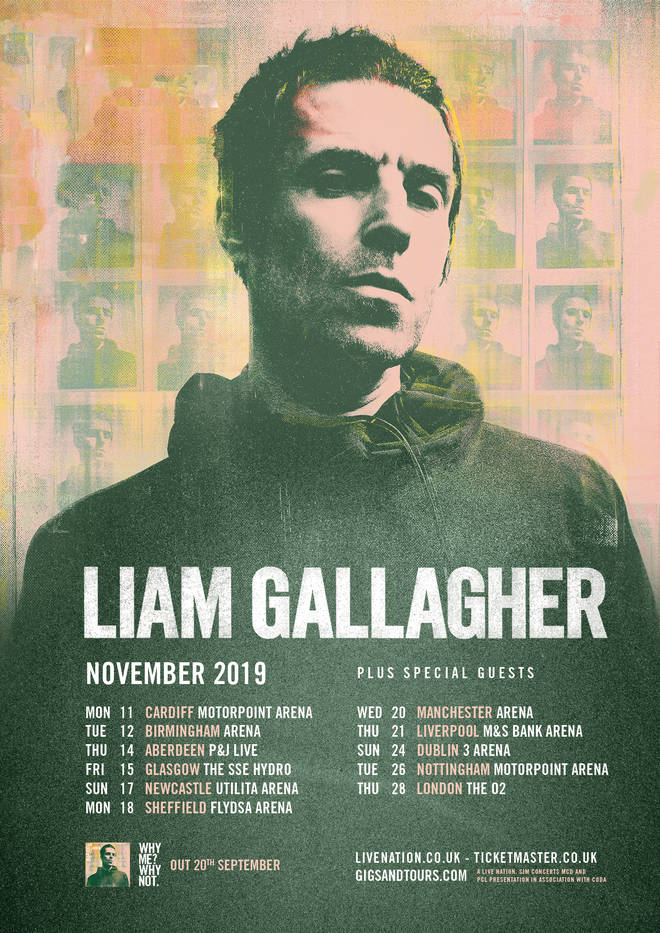 Liam Gallagher announces UK tour dates for November 2019