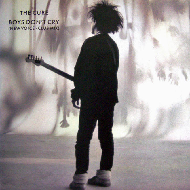 The Cure - Boys Don't Cry single sleeve (1986 reissue)
