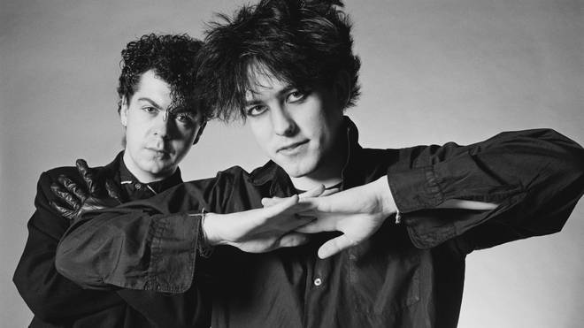 The Cure: Lol Tolhurst and Robert Smith in 1983