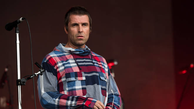 Liam Gallagher on the Pyramid Stage at Glastonbury 2019