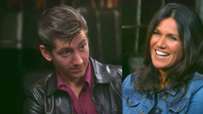Alex Turner and Susanna Reid