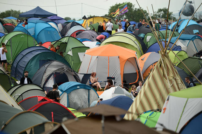 Emily Eavis reveals the percentage of tents taken home from Glastonbury 2019