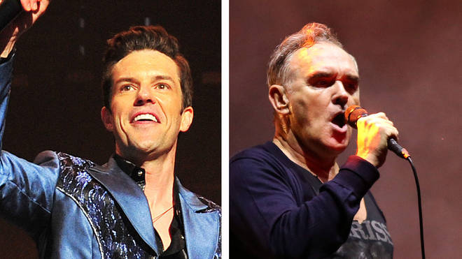 The Killers' Brandon Flowers and The Smiths former frontman Morrissey