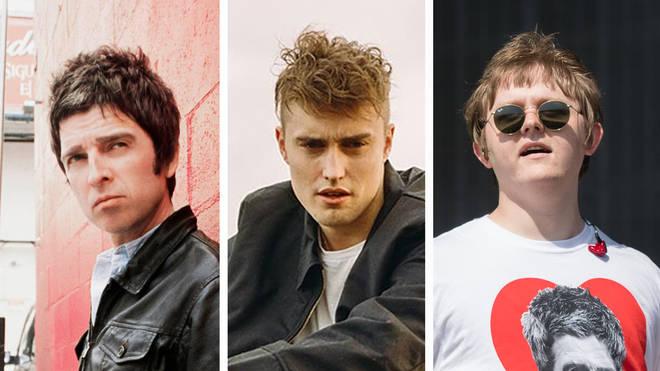 Noel Gallagher, Sam Fender and Lewis Capaldi