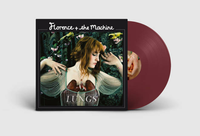 Florence + The Machine - Lungs burgundy vinyl album