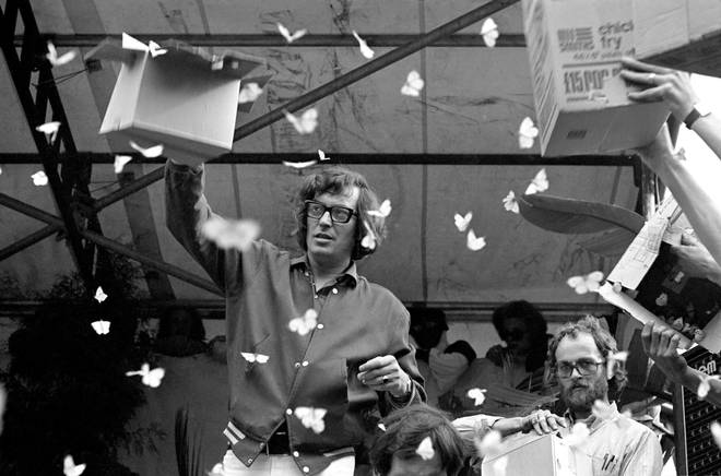 Tom Keylock releases Butterflies at the free concert in London's Hyde Park on 5 July 1969?