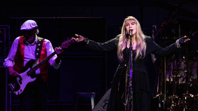 Fleetwood Mac performing live in 2018