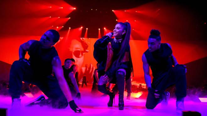 Ariana Grande live in 2017