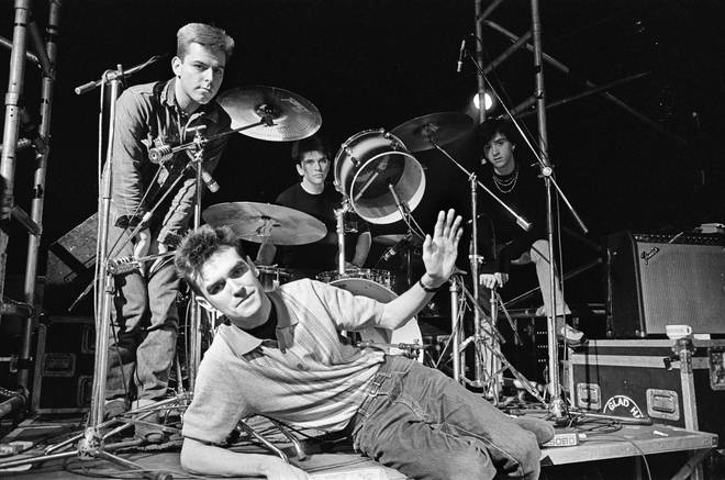 The Smiths: Andy Rouke, Mike Joyce, Johnny Marr and Morrissey