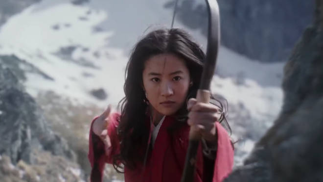 Yifei Liu stars as Mulan in the live action Disney remake