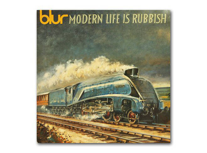 Blur - Modern Life Is Rubbish album cover