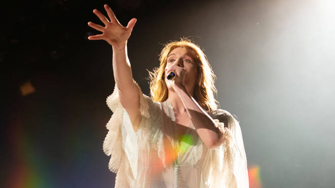 Florence and The Machine singer Florence Welch