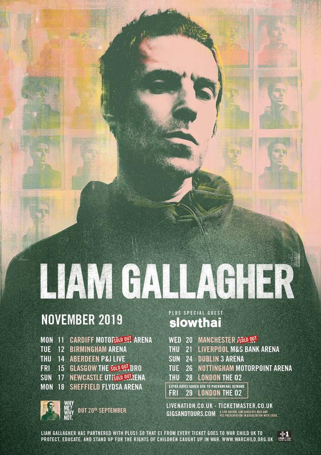 Liam Gallagher announces November 2019 UK tour dates - Radio X