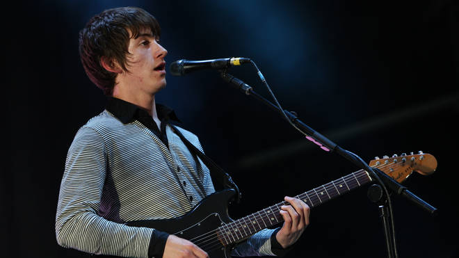 Arctic Monkeys play the Lancashire Cricket Club's Old Trafford Ground, 28 July 2007