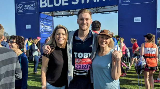 Toby Tarrant runs the London Marathon 2018
