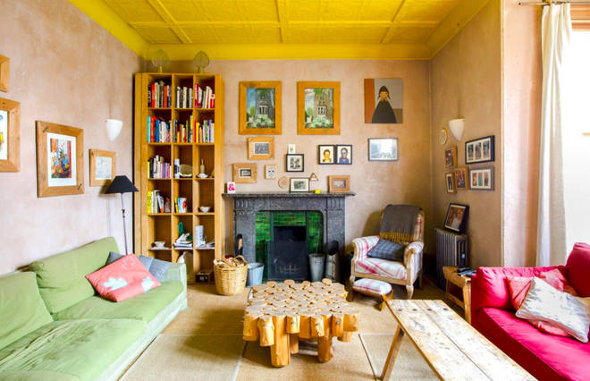 The Spaced house - interior