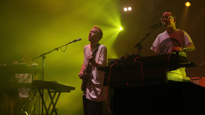 Hot Chip live on stage