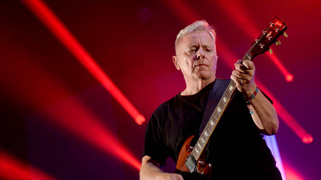 New Order live on stage