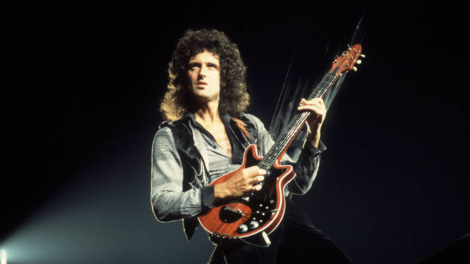 Brian May of Queen in 1980